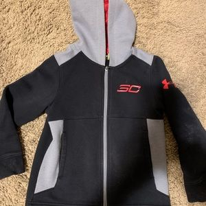 Under Armour SC Zip Hoodie Youth Sz XS